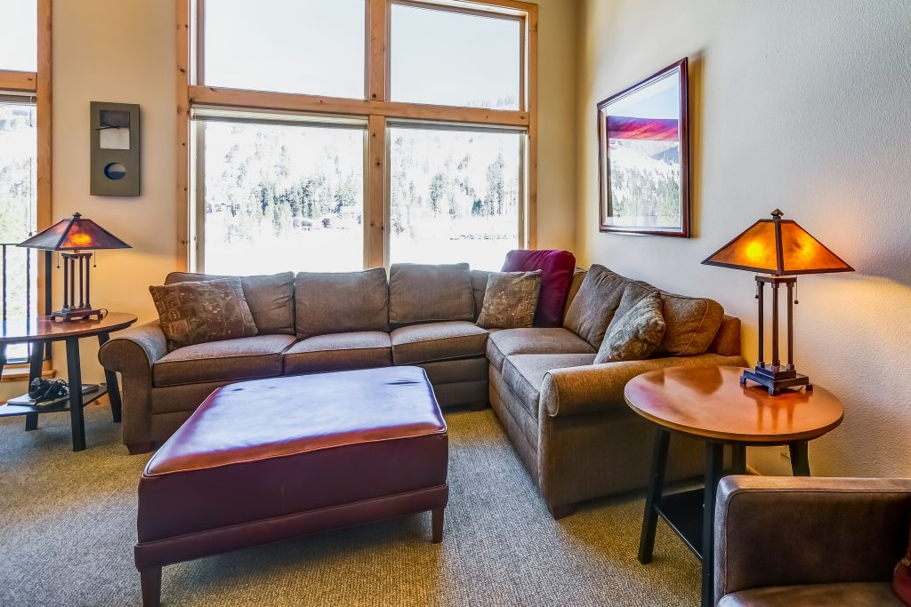 Lost Cabin townhome is located on the  Kirkwood meadow and a perfect place to relax after the wedding