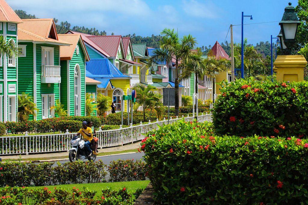 Paysage de ville République Dominicaine