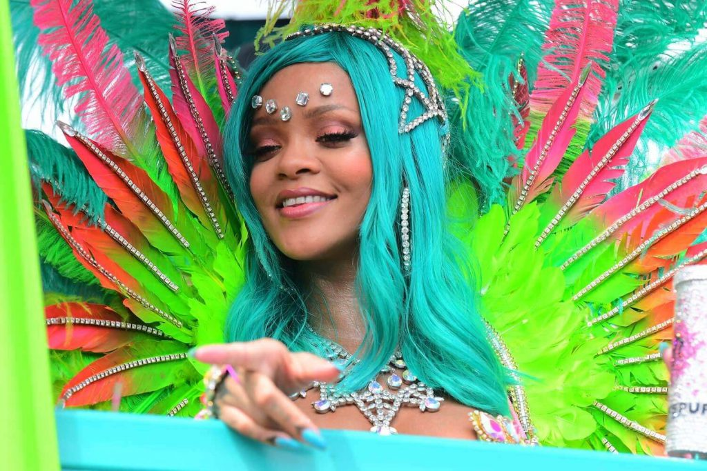 Crop Over Festival in Barbados - Rihanna