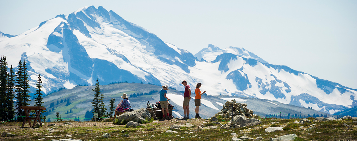 Sightseeing and Hiking in Whistler