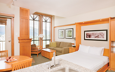 studio suite pan pacific mountainside