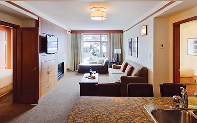 Pan Pacific Whistler Village 2 Bed Suite