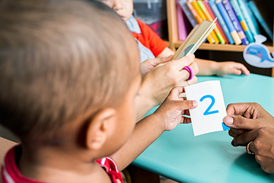 Jogos matemáticos na Educação Infantil