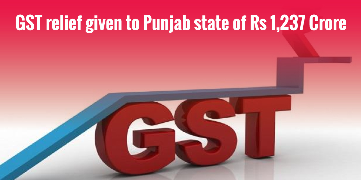 GST relief to Punjab