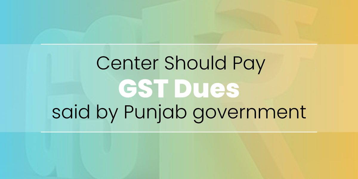 Pay GST dues