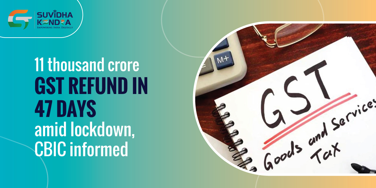 11 Thousand Crore GST Refund