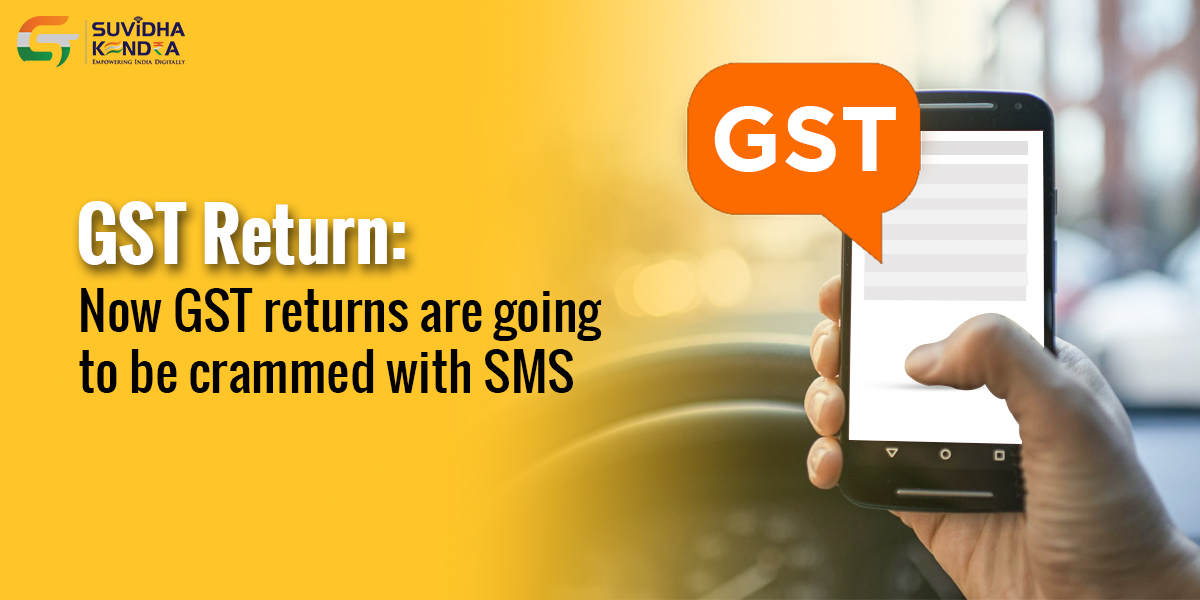 GST returns through SMS