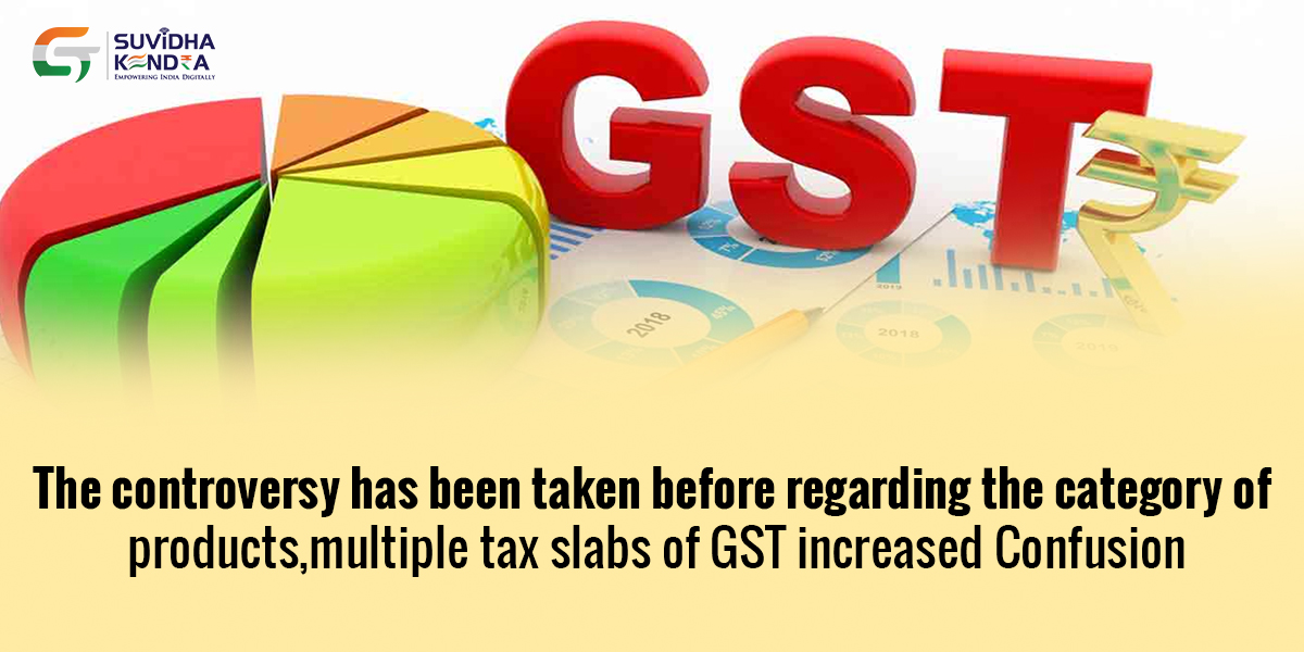 tax slabs of GST