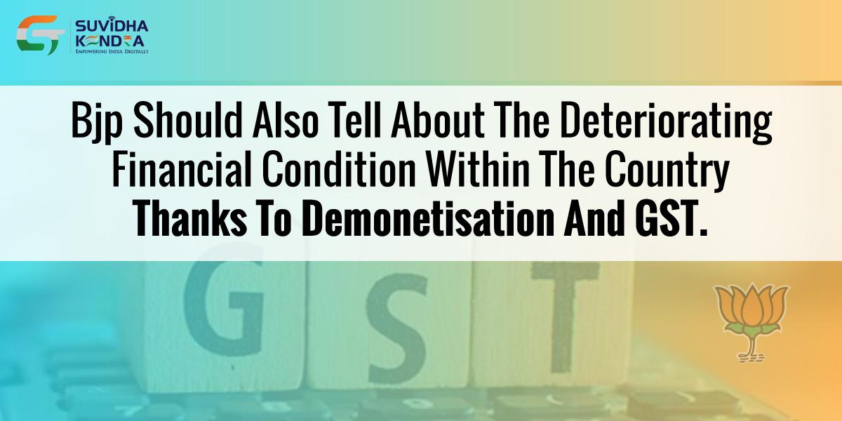 demonetisation and GST
