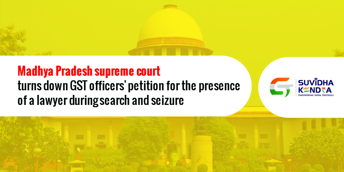 GST officers petition