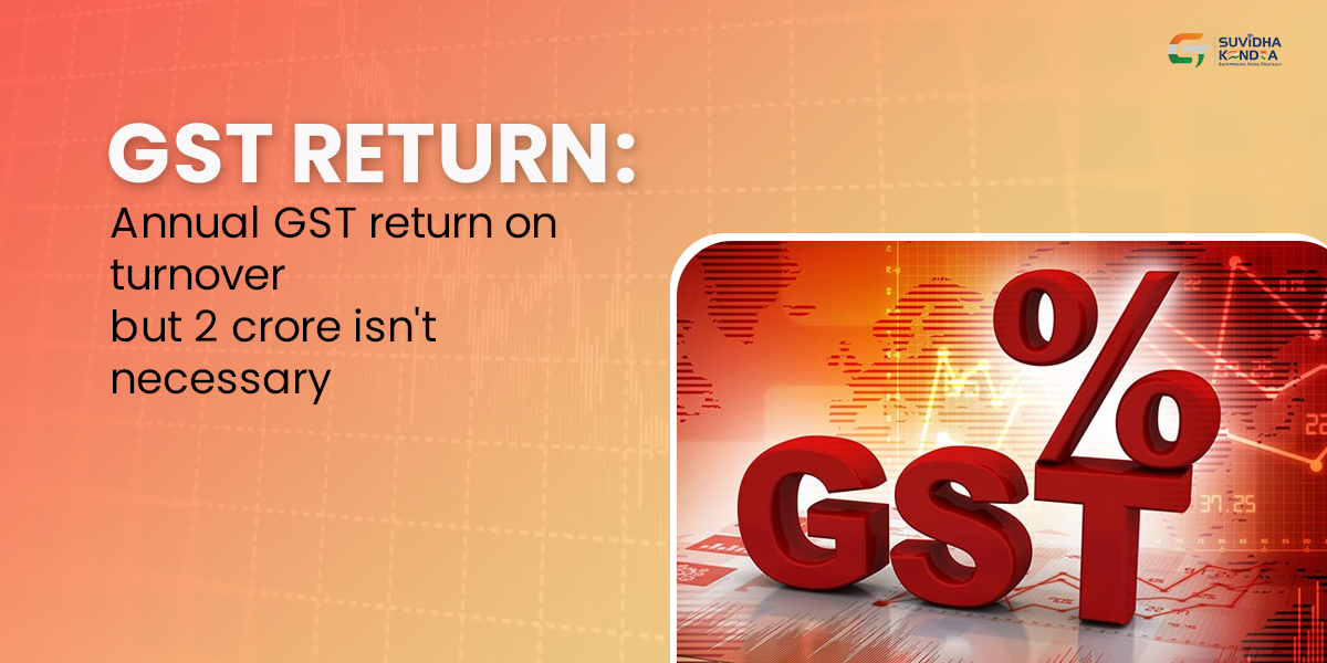 Annual GST return