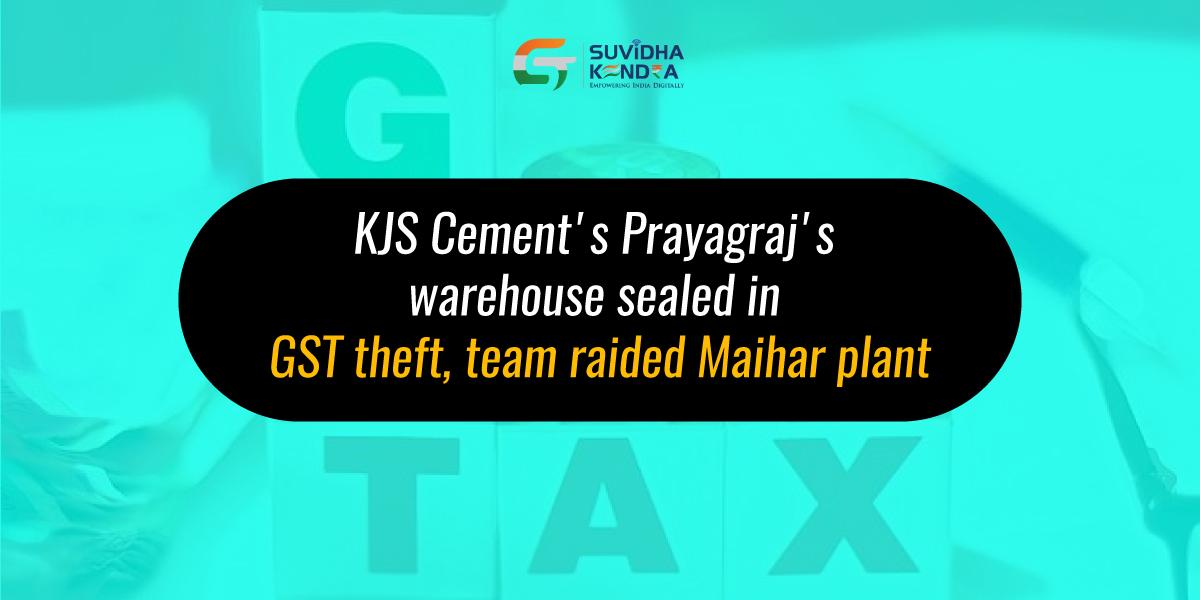 GST theft
