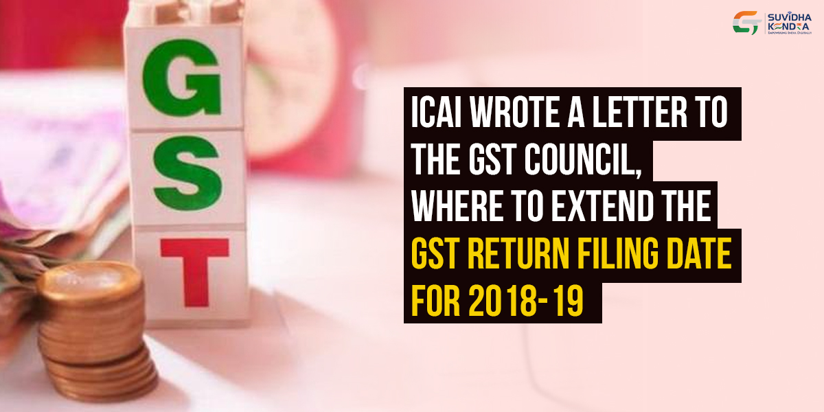 ICAI letter to GST Council