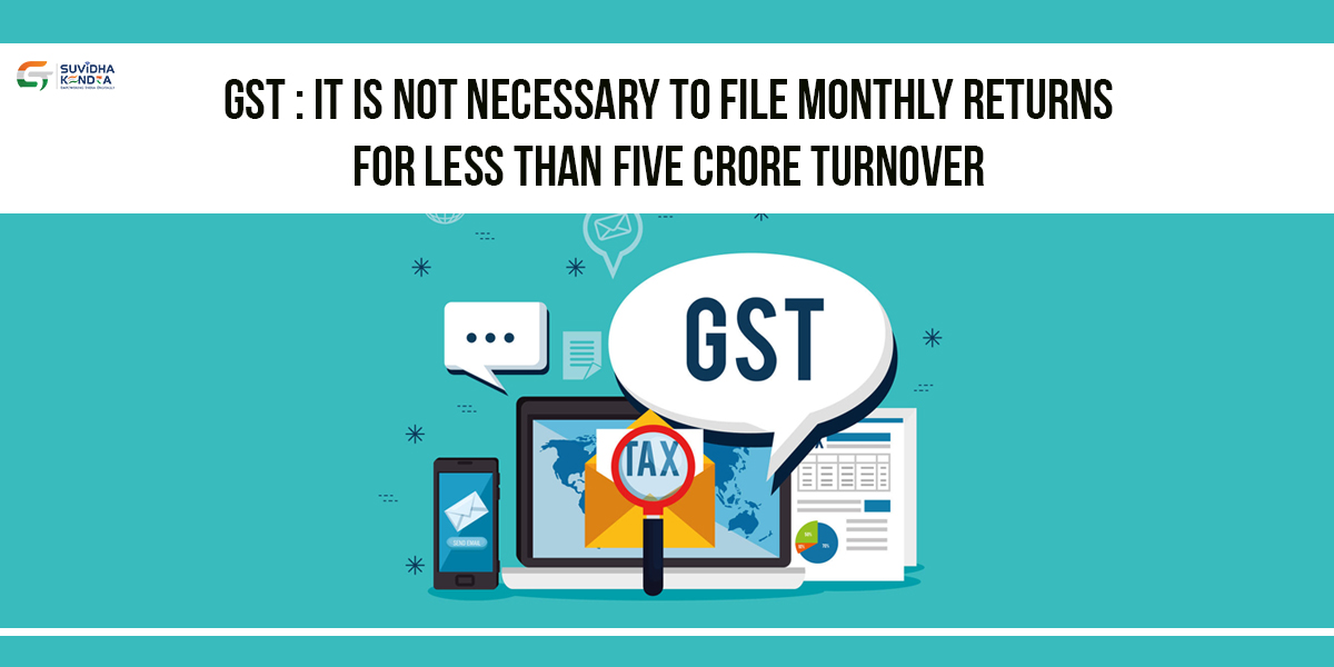 monthly GST returns