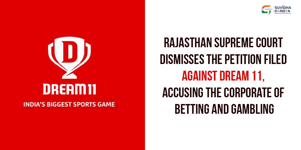 dismissed PIL against Dream 11