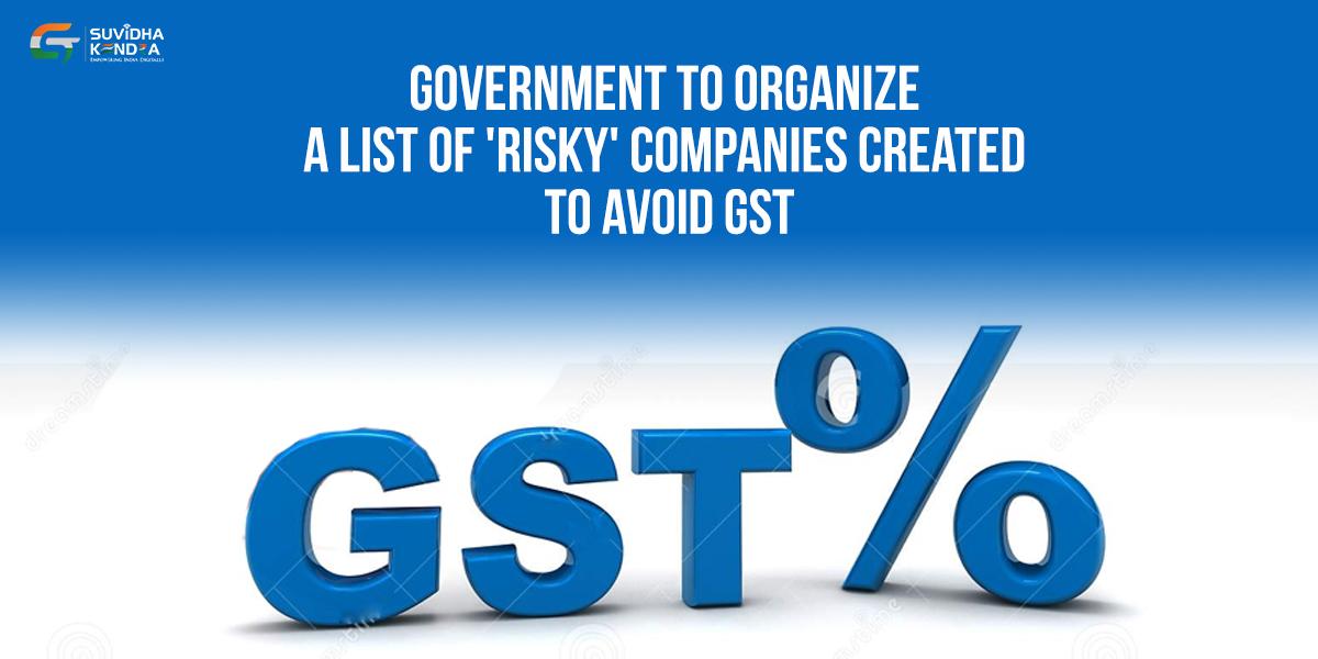 created list of risky companies