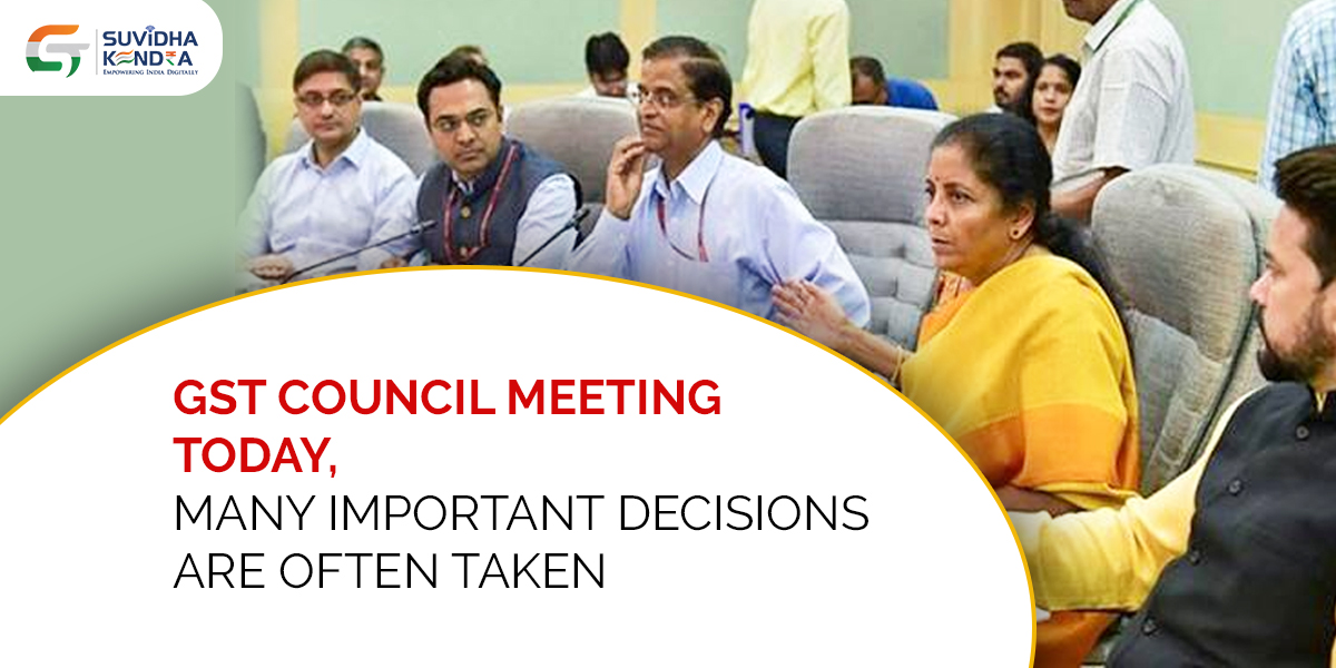 GST Council meeting today
