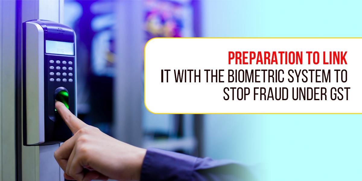 stop fraud under GST