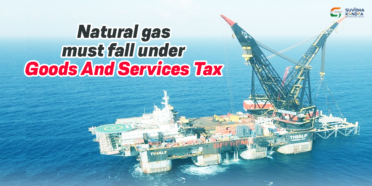 GST on natural gas