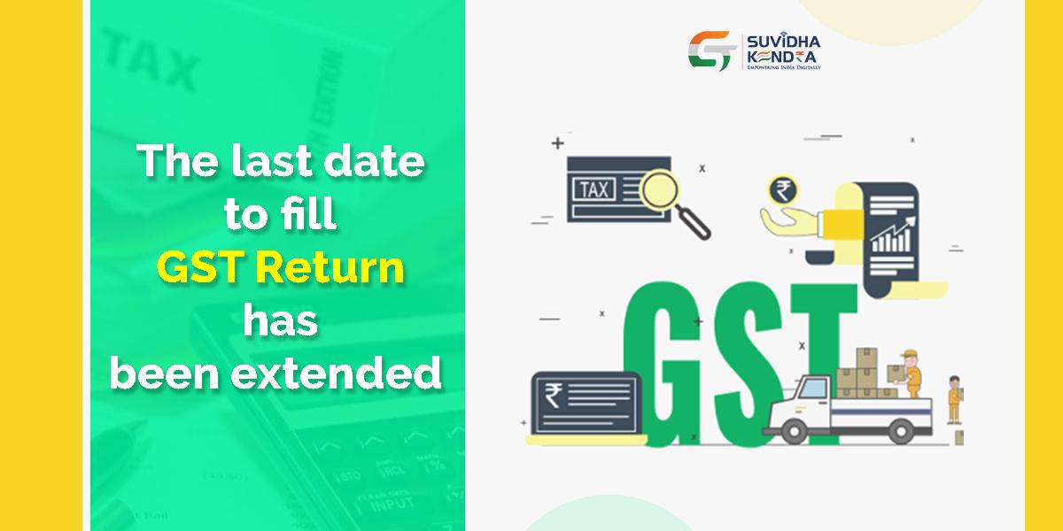GST Return date