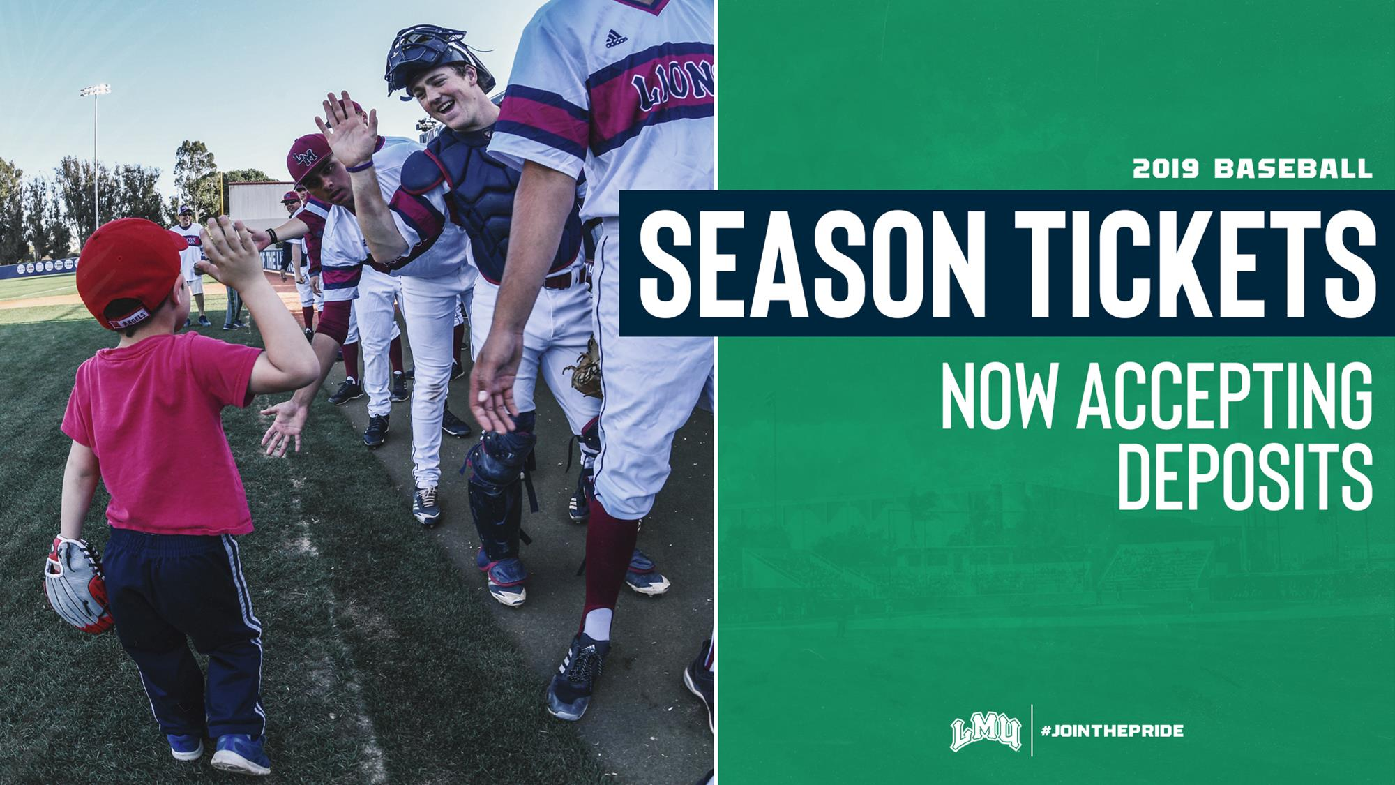 secure your seats today baseball season ticket deposits now open