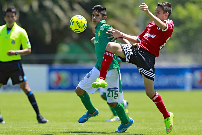 León venció por la mínima diferencia a Tijuana en partido correspondiente a  la Jornada 2 de la LIGA Bancomer MX Sub-13 e1f7f94398930