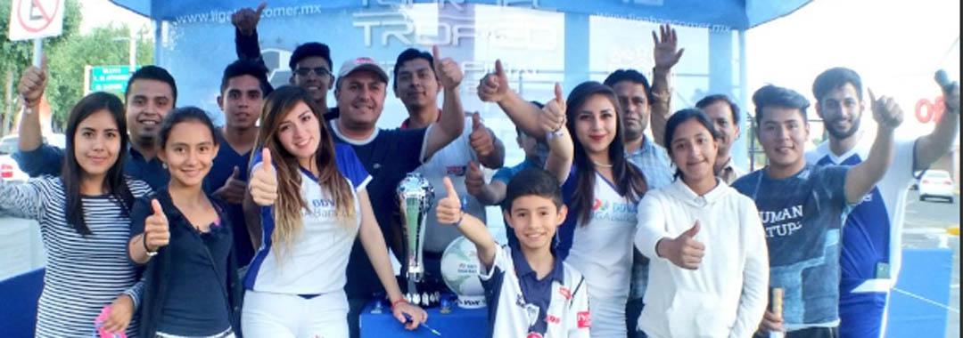 Llegó el Tour del Trofeo a Pachuca.