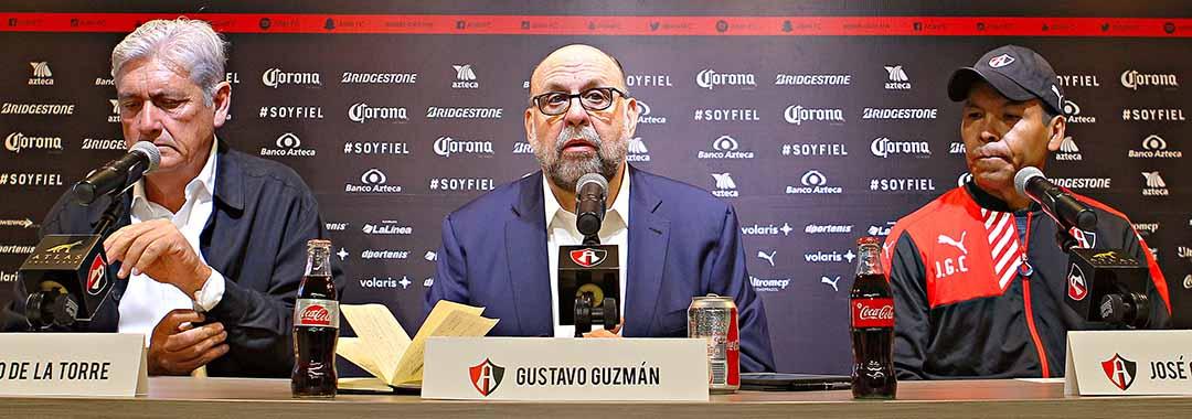 Atlas Presentó Nueva Estructura Deportiva