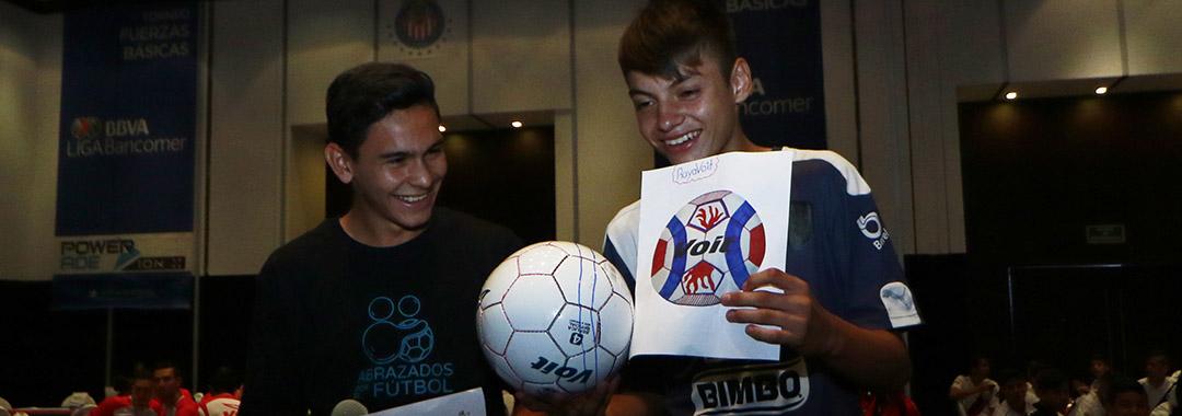 VOIT y la LIGA Bancomer MX Sub13 Crearon su Balón