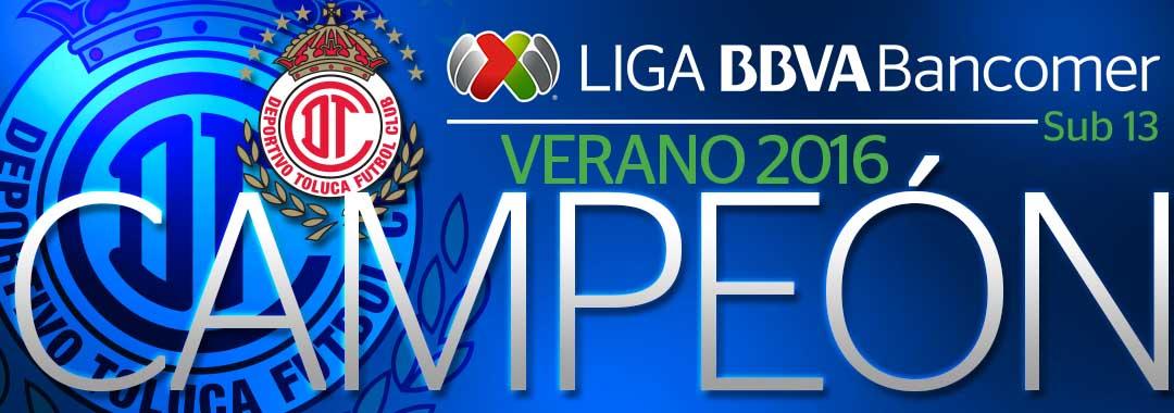 Los Diablos Son Campeones de la LIGA Bancomer MX Sub13