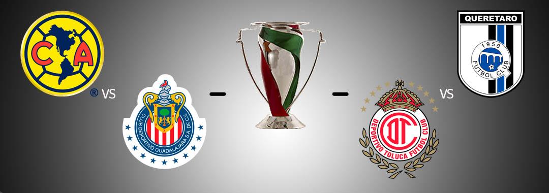 Definidas las Semifinales de la COPA Corona MX A2016