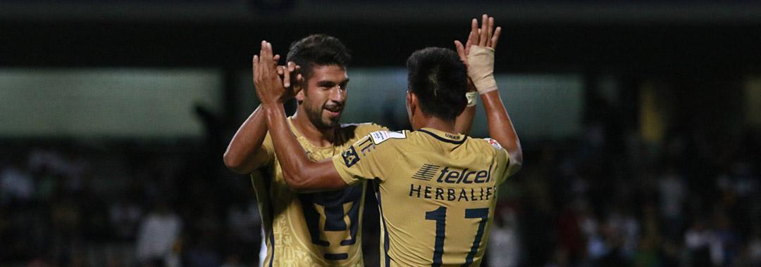 Pumas Golea y se Instala en Cuartos de Final