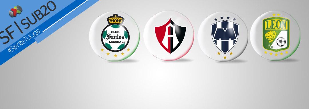 Se Definieron las Semifinales de la LIGA Bancomer MX Sub20