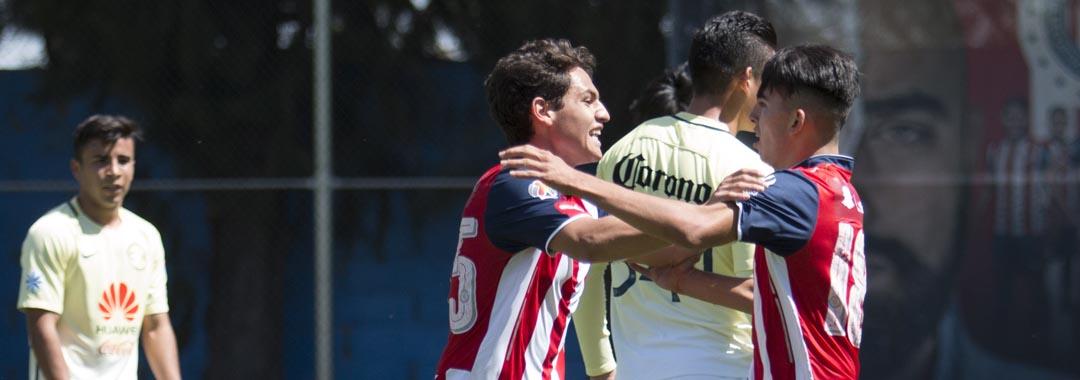 Chivas Ganó el Clásico Sub-17