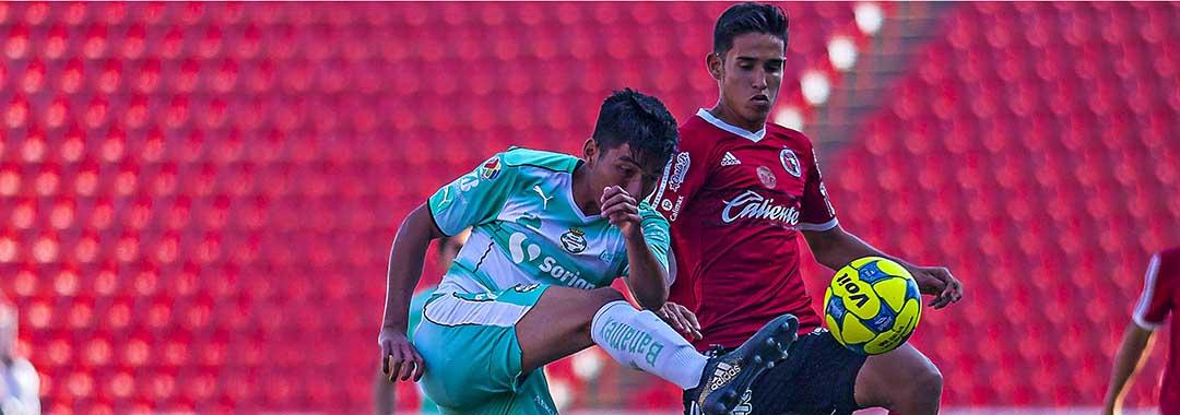 Dos Mordidas a Santos en el Estadio Caliente
