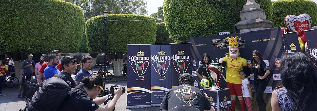 La COPA Corona MX Dejó Morelia