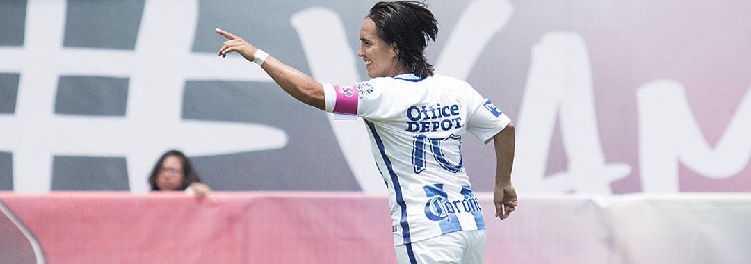 Mónica Ocampo, Campeona de Goleo