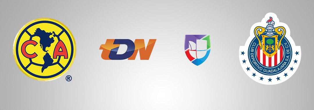 América vs. Chivas, en Vivo por TDN y Univisión