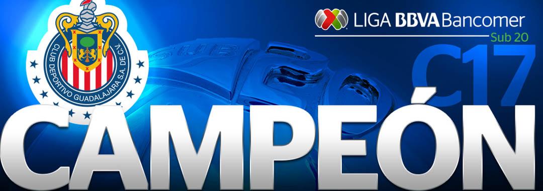 Guadalajara es Campeón de la LIGA Bancomer MX Sub-20