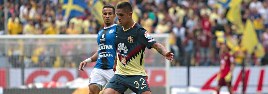 Enrique Cedillo Debutó Con América.