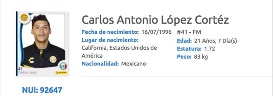 Carlos Antonio López Debutó Con el Gran Pez