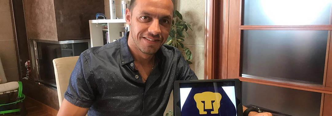 Marcelo Díaz, Nuevo Jugador de Pumas