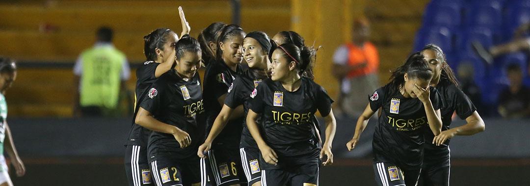 Convincente Triunfo de Tigres Femenil