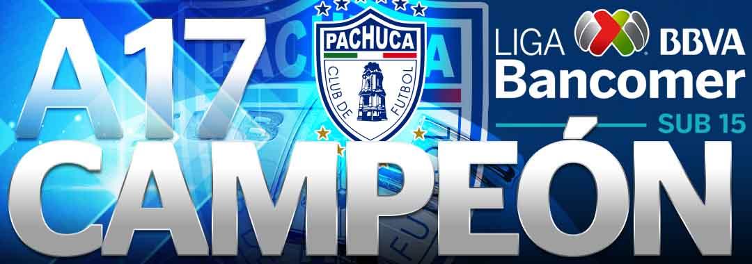 Pachuca Campeón de la LIGA Bancomer MX Sub-15