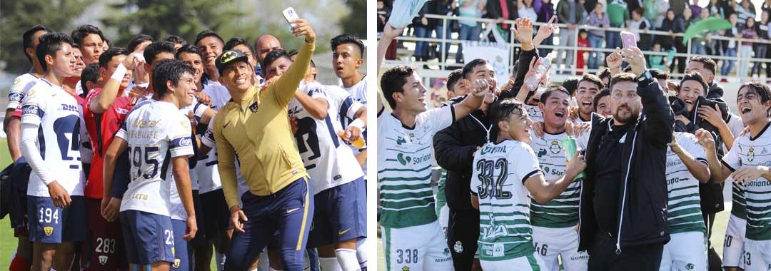 Pumas y Santos, en Busca del Campeonato de la LIGA Bancomer MX Sub17