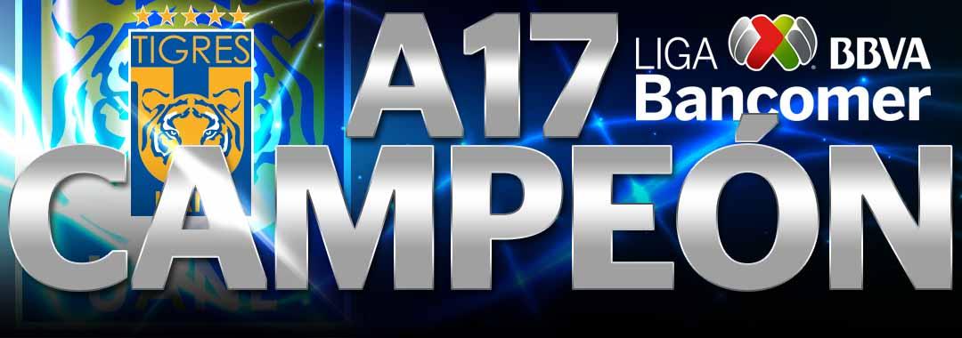 Tigres Campeón Del Apertura 2017