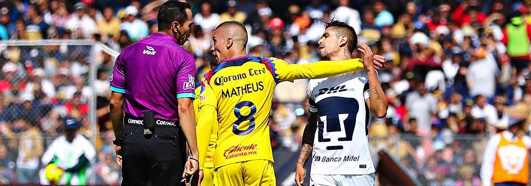 El Club América Apeló la Sanción a Mateus Uribe