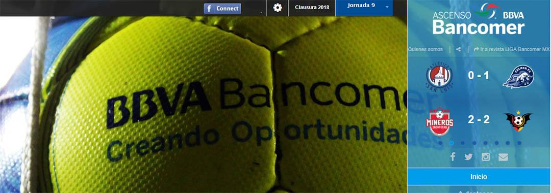 Revista Digital ASCENSO Bancomer MX: Jornada 9.