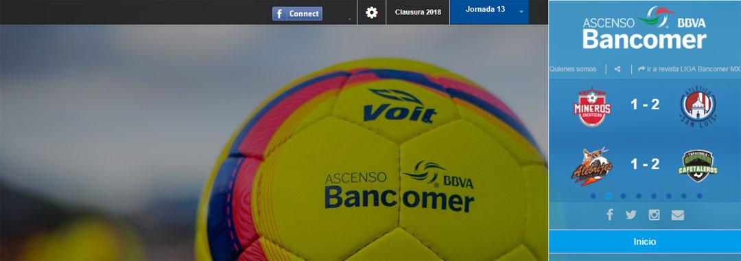 Revista Digital ASCENSO Bancomer MX: Jornada 13.