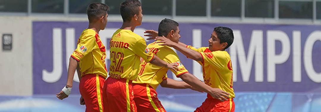 Monarcas Morelia, Segundo Finalista del Torneo Sub 13.